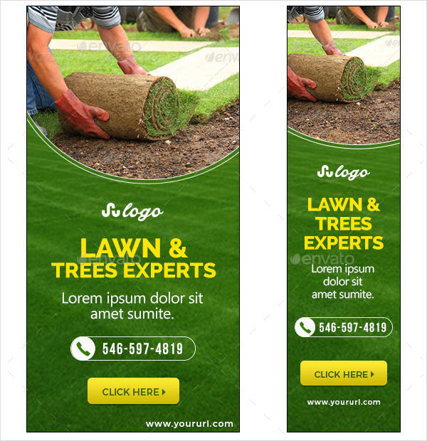 landscaping company banner