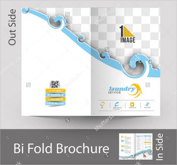 Laundry Services Bifold Brochure