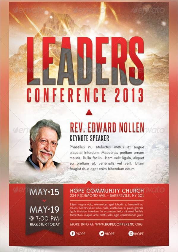 Leadership Conference Flyer