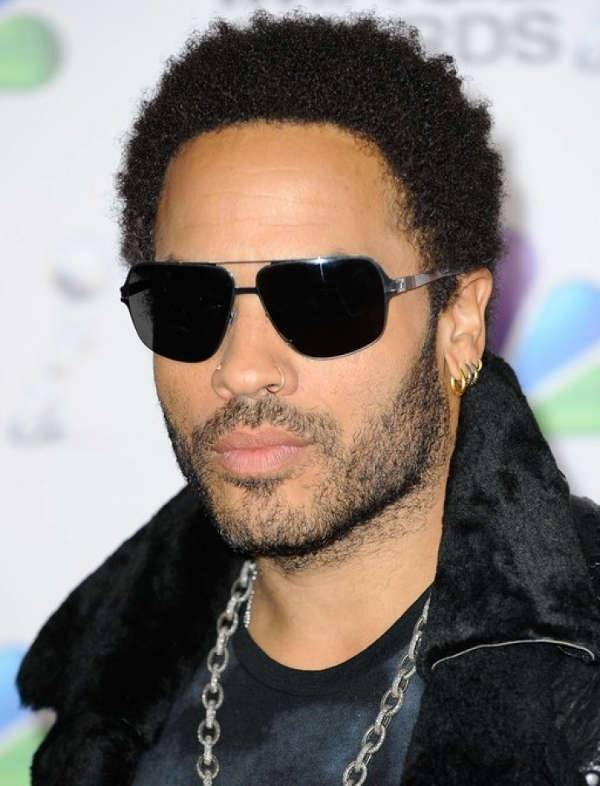 Lenny Kravitz Black men Curly hairstyles