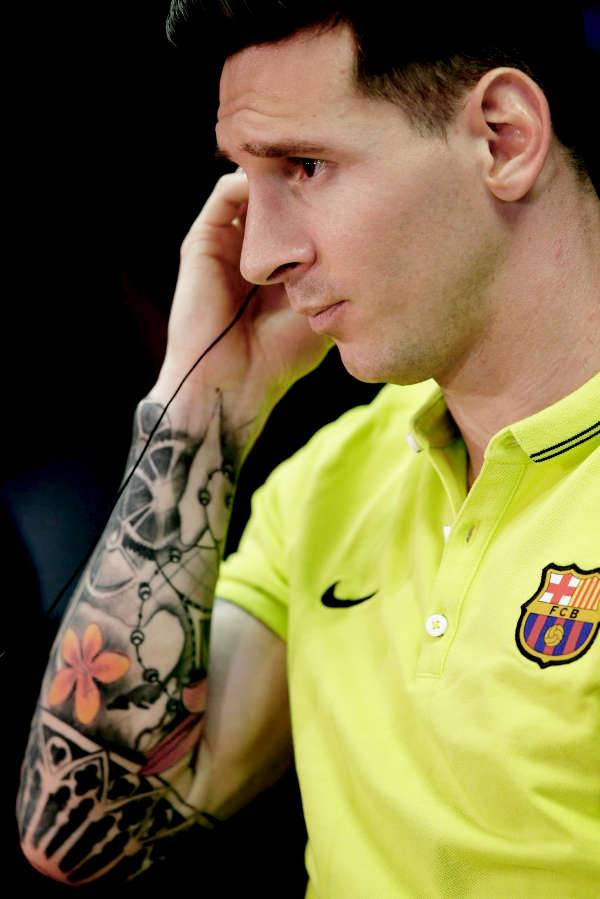 leo messi tattoo