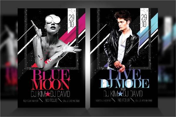 Live Dj Event Flyer