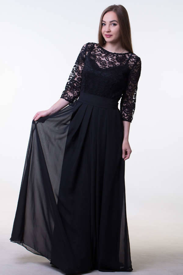 Long Black Prom Dress