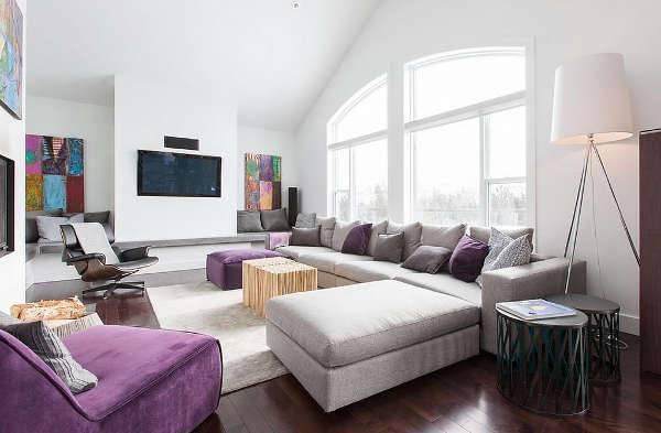 luxurious purple