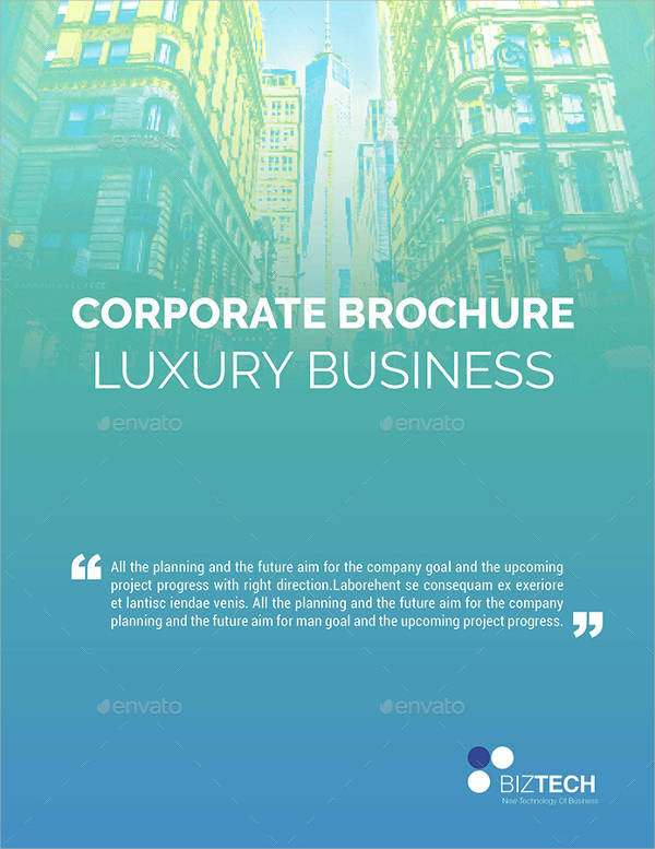 Luxury Corporate Business Brochure