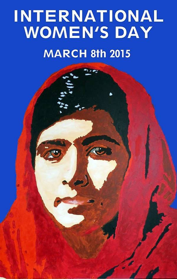 malala greeting card