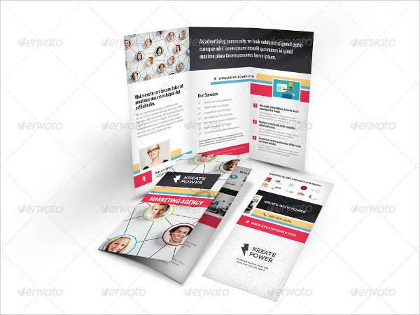 Marketing & Advertising Trifold Brochure