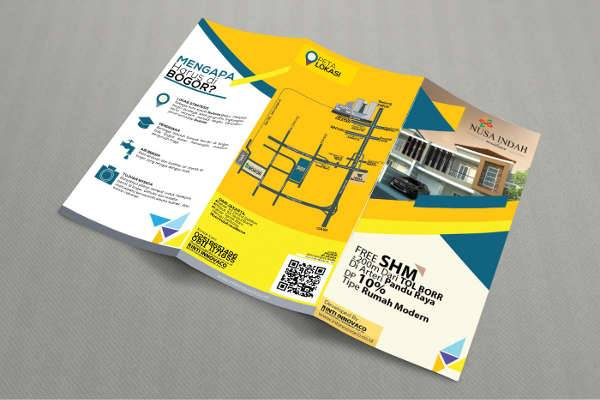 Marketing Support Trifold Brochure