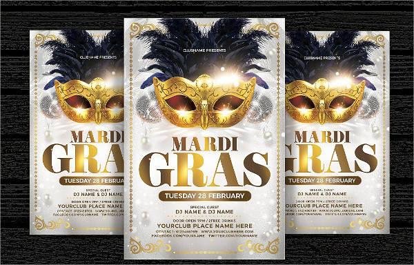 Masquerade Carnival Flyer