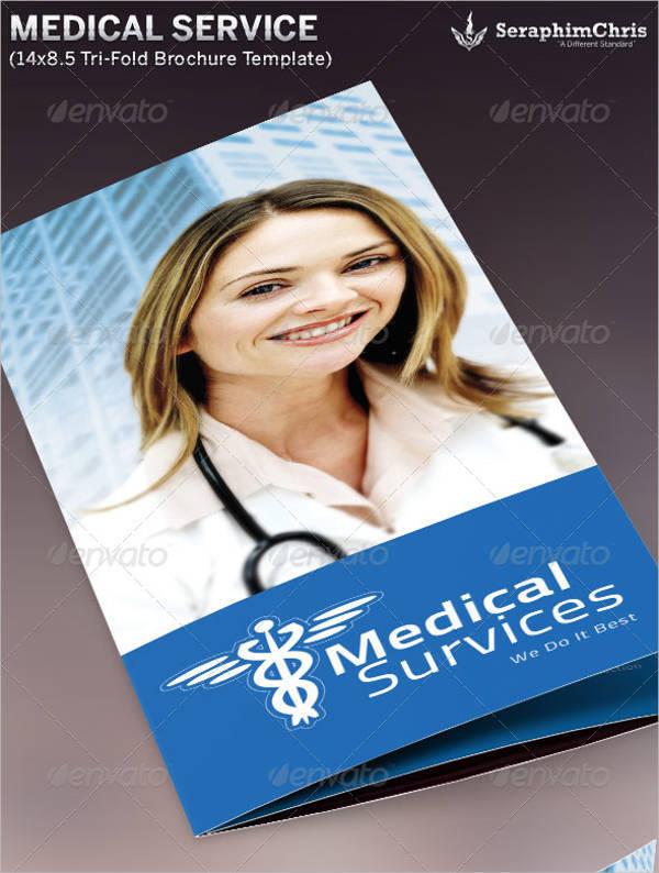 Medical Service Tri-Fold Brochure