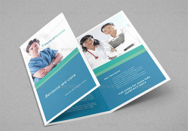 Medical Services Trifold Brochure