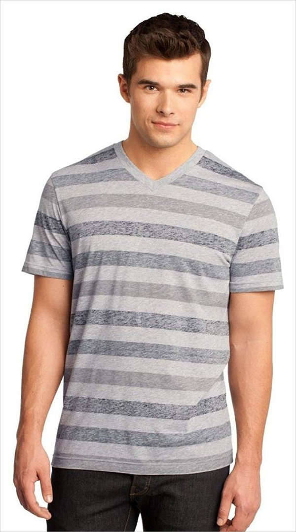 Men's Striped T Shirt