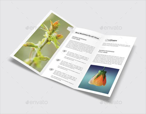 Minimal Advertising Trifold Brochure