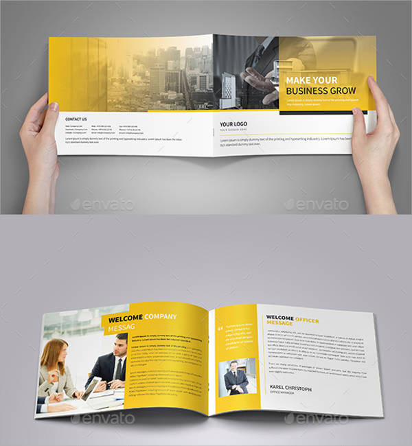 Minimal Corporate Business Brochure