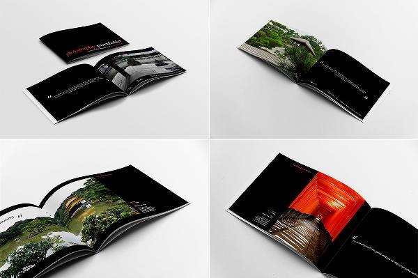 Minimal Photography Album Template