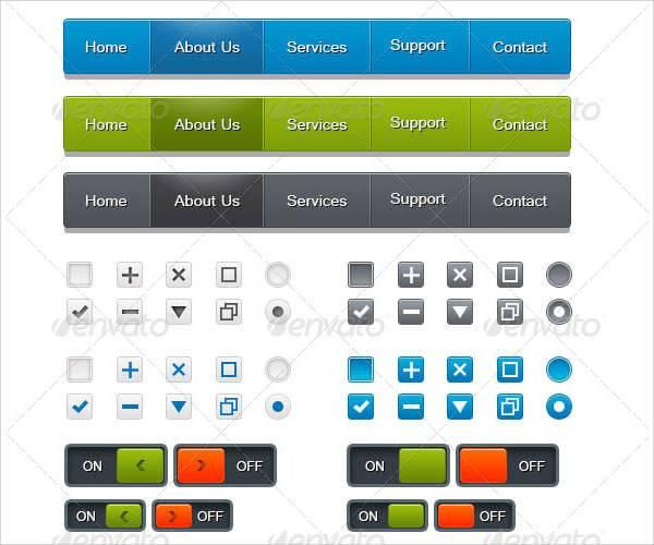 mobile web ui design