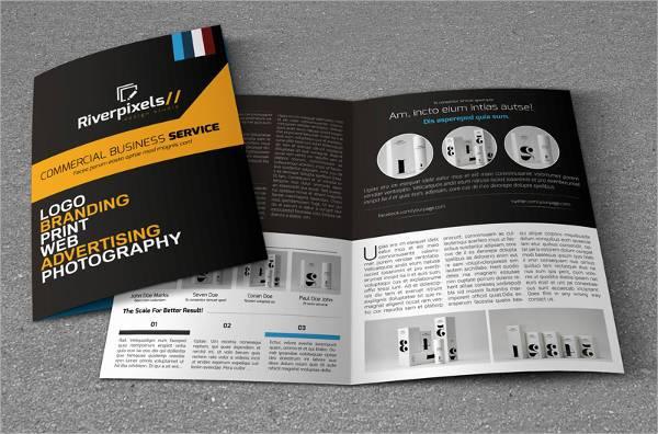 Modern A4 Bi-Fold Brochure