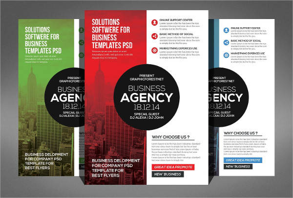 Modern Business Agency Flyer