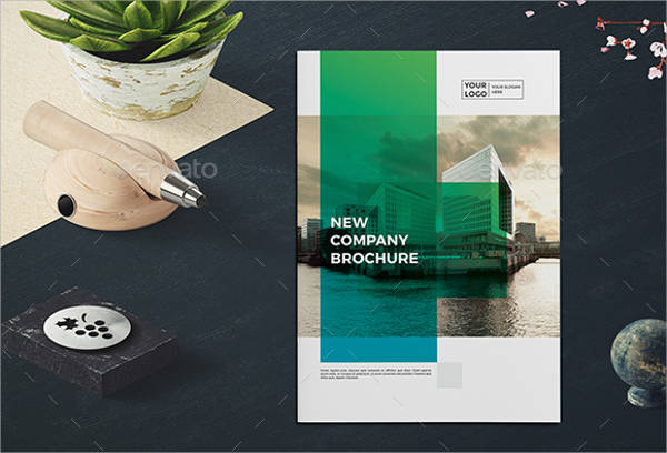 Modern Business Company Brochure