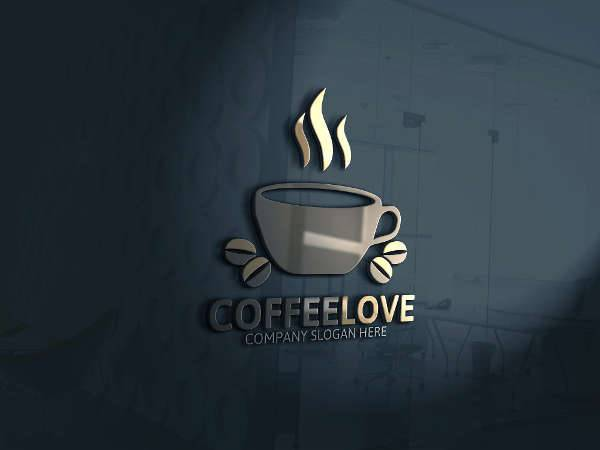 modern coffee logo