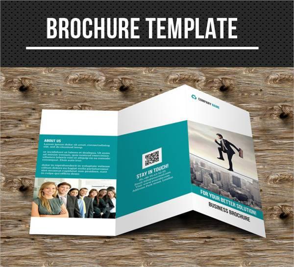 Modern Company Tri-fold Brochure