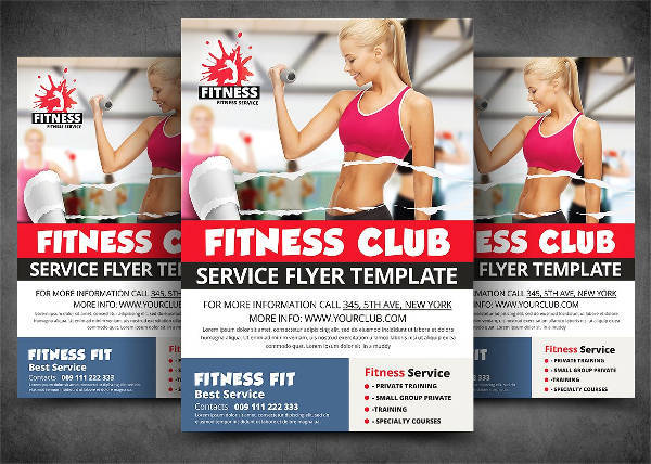Modern Fitness & Sports Flyer