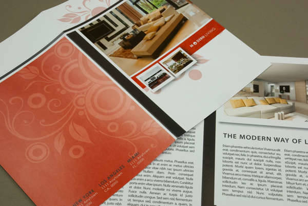 Modern Furniture Brochure