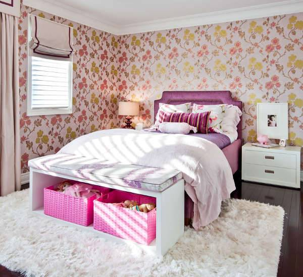 modern girls bedroom design