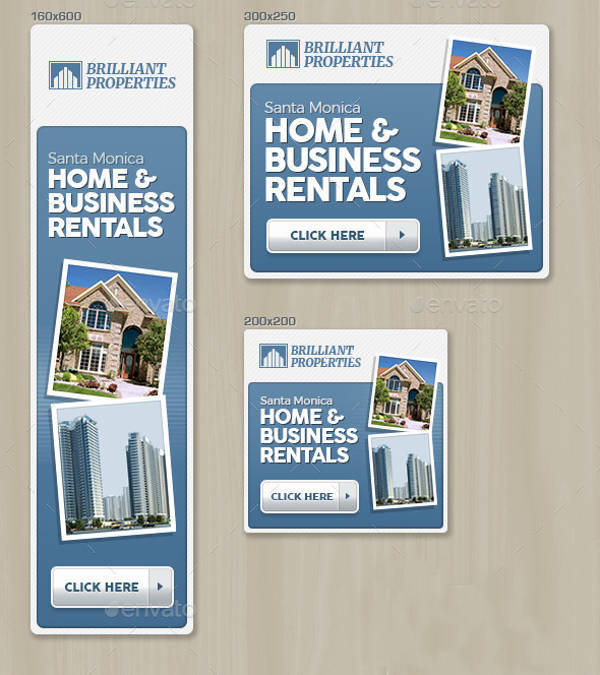 Modern Real Estate Banner