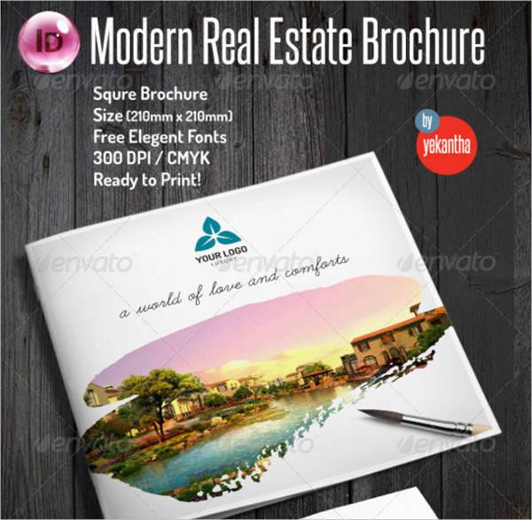 Modern Real Estate Brochure