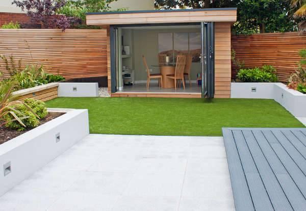 modern small garden idea