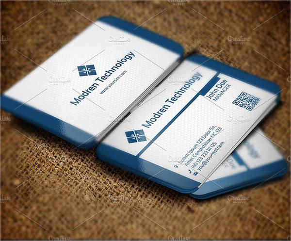 Modern Technology Business Card