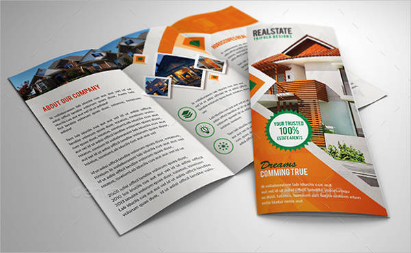 Modern Trifold Real Estate Brochure