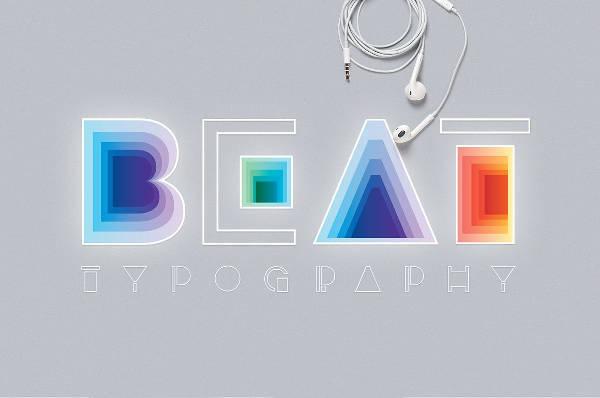 Modern Typography Logo Font