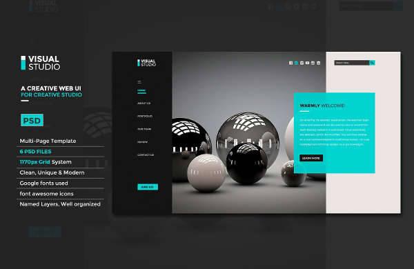 modern web ui design