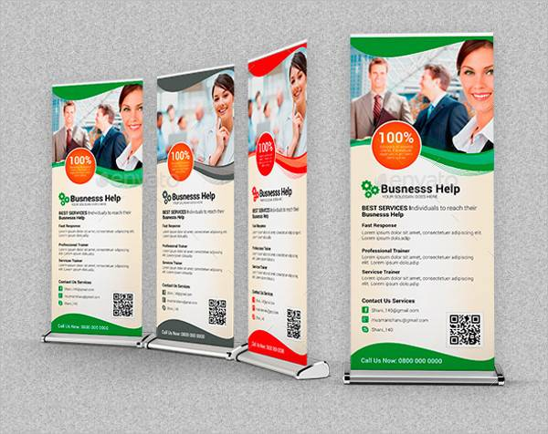 Multipurpose Business Roll Up Banner