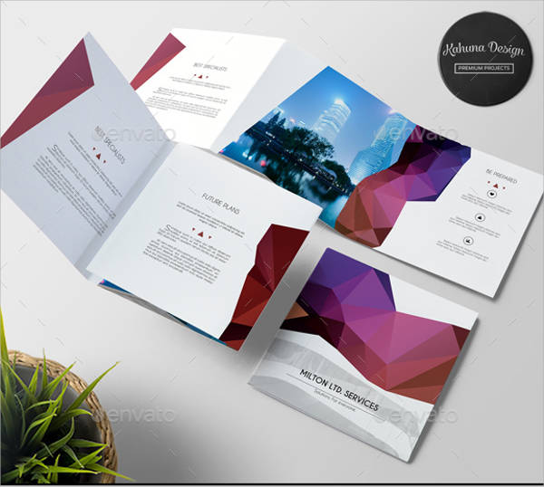 Multipurpose Business Square Brochure