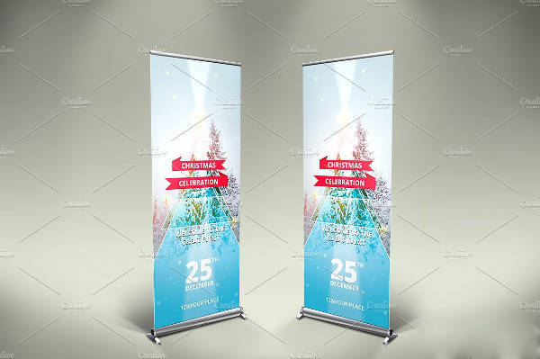Multipurpose Christmas Party Banner