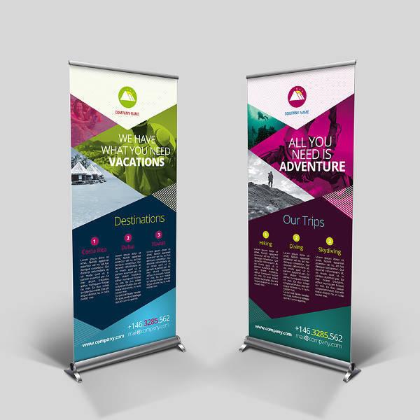 multipurpose corporate banner signage