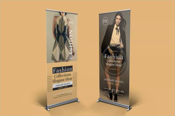 Multipurpose Fashion Roll Up Banner