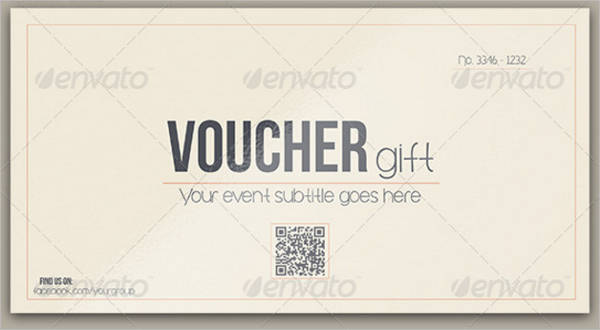 Multipurpose Retro Voucher