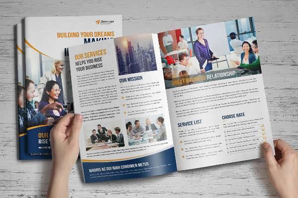 Multipurpose School Business Brochure