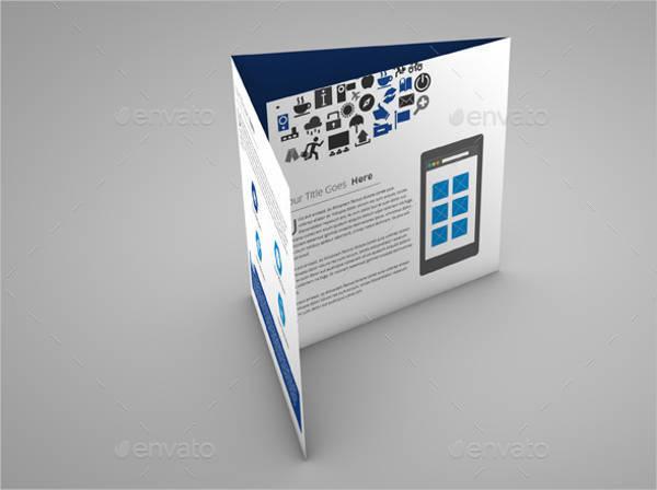 Multipurpose Square Tri-Fold Brochure