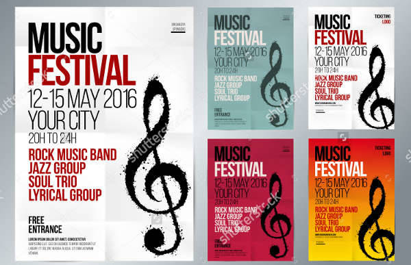 Musical Event Promotion Flyer
