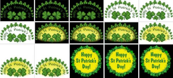 MyFreeClipart's Free St. Patrick's Day Clip Art