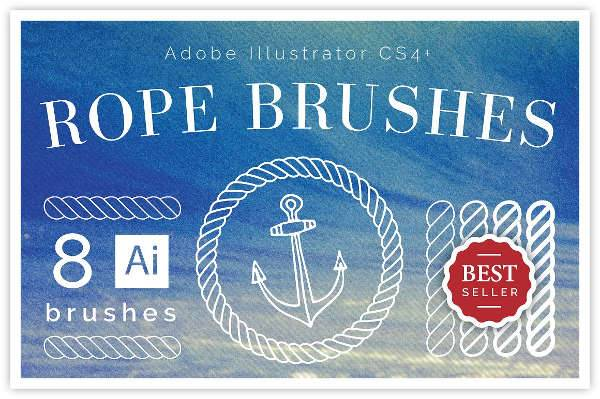 10+ Rope Brushes - ABR Format Download | Design Trends