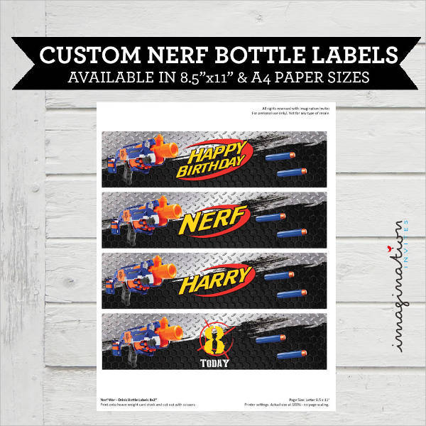 nerf drink bottle label1