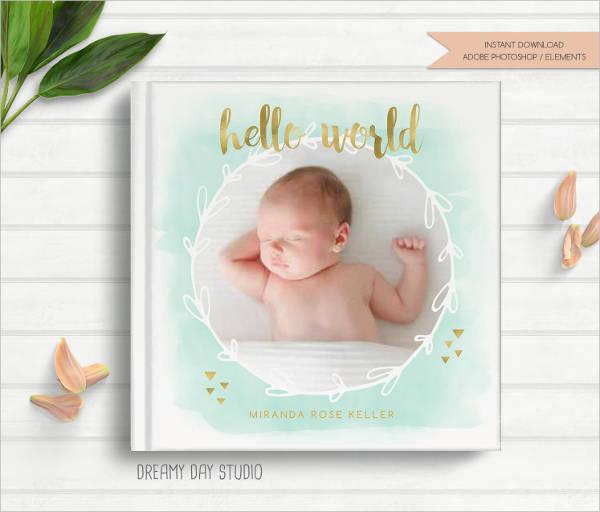newborn baby photo album1