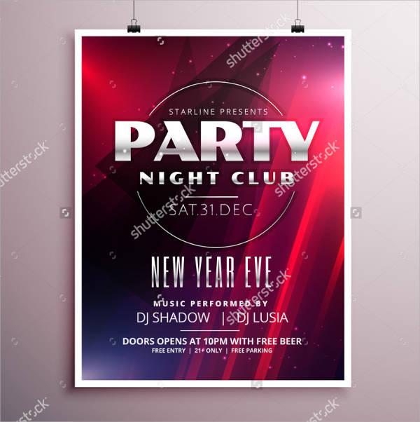 Night Club Event Flyer