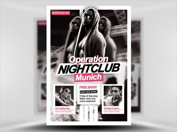 Nightclub Flyer Design